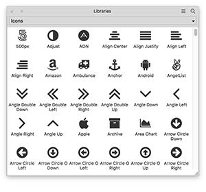 Icon Widget Library